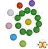 80mm plastic balls for baby