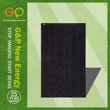 G&P A-grade cell high efficiency 5W-310WP mono solar panel,solar module,solar power