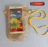 cell phone neck hanging bag waterproof beach pouch for samsung note
