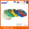Heat resistance masking tape, paper masking tape