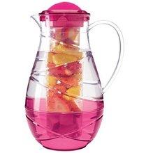 Iced Fruit Water Plastic Lemonade Pitcher