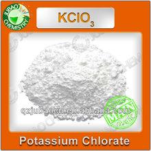 99.5% anti - caking fogos de artifício material KCLO3 potássio chlorate fabricante