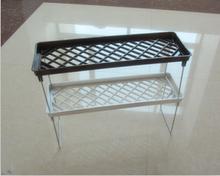 plastic storage shelf & rack for sundries