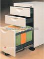 Oficina pedestal móvil, Moderna de madera archivador, Móvil del gabinete