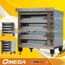 Alibaba HOT !! OMEGA diesel oil bread oven OMJ-D3L/6T( manufacturer CE&ISO9001)