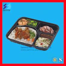 Transparent Lid Plastic Lunch Box