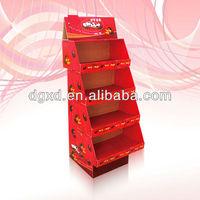 custom printing note book, gift, candy corrugated stand display shelf