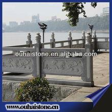 Garden Landscaping Stone Guardrail Granite Baluster Banister Handrails