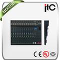 El cci ts-xp serie mezclador de audio