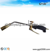 Liquefied Gas Blow Torch for heating pitch