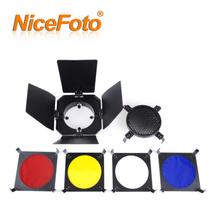 Photographic accessories - Studio flash lighting accessories - Photo Mini Barn door filter SN-01