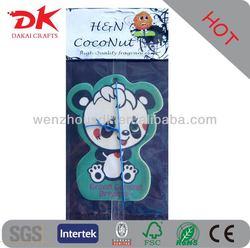 Customized paper air freshner& Lasting scent car air freshener