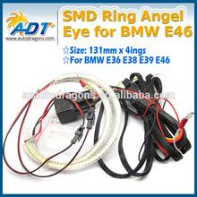 E36 E46 SMD LED angel eyes 131mm x 4 rings Halo Ring Angel Eyes