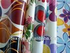 Printed canvas fabric laminated PVC