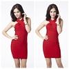 rayon bandage dress red bodycon dress cheap red bandage dress
