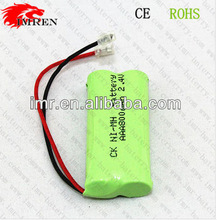 Ni-Mh AAA 800mah 2.4V Rechargeable Phone Battery Pack