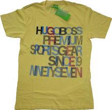Fashionable Designer Brand Printed Short Sleeve T Shirts for Men