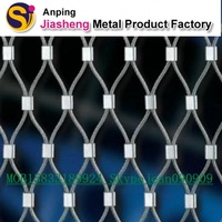 7x7 structure rope wire mesh (manufacturer and exporter)