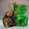 Elephant crystal Liuli Pen container