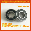 1623zz 1623 2RS high performance Sealed inch Ball Bearings