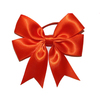 2013 wholesale pre made satin ribbon bow/red ribbon bow for wine bottle /beautiful gift wrapping ribbon bows