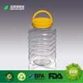 transparente comestível plástico pet garrafa de água mineral