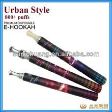 disposable electronic cigarette 800 puffs e hookah vaporizer pen