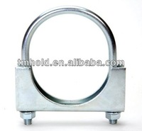 """Exhaust Pipe Connector Sleeve Joiner 2 1/4"""" 57mm U hose Clamp On Including Clamps"""