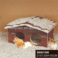 Multifunctional nature wooden hamster cage &house &home