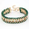 Emerald Cord Handmade Bracelet Jewelry,Fashion Chain Jewelry,Braided Bracelet Jewellery(SWTWG0156-5)