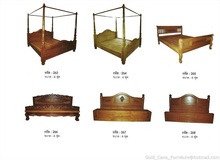 Good Teak solid wood bed from Thailand