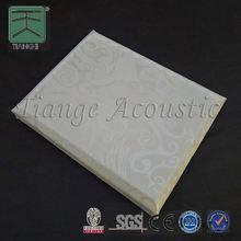 Acoustic fabric panel plastic interior wall decorative panel