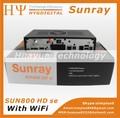 linux décodeur hd sunray samsat hd soi sim wifi avec 800 a8p dm800hd se récepteur en stock avec le wifi