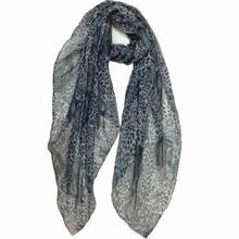 lady's neck decoration leopard prints pattern hot selling winter scarf