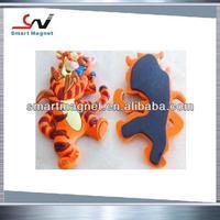2015 fashionable promotion custom rubber PVC 3d fridge magnets