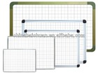 white board with with grid lines