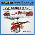 salvação avatar 4 ch rádio helicóptero de controle remoto
