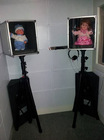 Visual reinforcement audiometry system for hearing test pediatric assessment