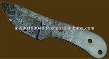 Damascus Blank Blade