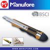 Auto lock 9mm blade knife, plastic 9mm utility knife