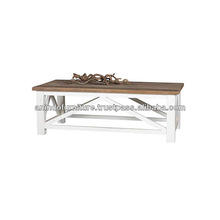 EV Series Coffee Table with Cross Legs