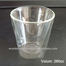 High Quality Borosilicate Glass Double Wall Coffee Mug
