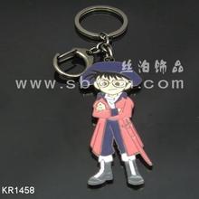 cheap plastic cartoon pvc promotion keychain