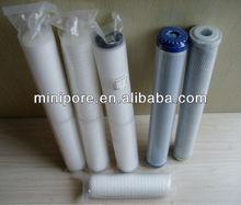 mineral de carbón activado bloque nuevo de reemplazo de filtro de agua con cartucho 1 micrones