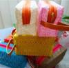 pvc mesh bag cosmetic bag makeup case
