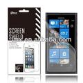 Protetor de tela do telefone móvel para nokia lumia 900 oem/odm( anti- impressão digital)