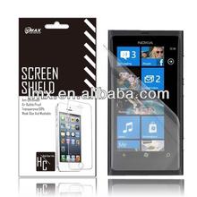 Screen protector mobile phone for Nokia lumia 900 oem/odm(Anti-Fingerprint)