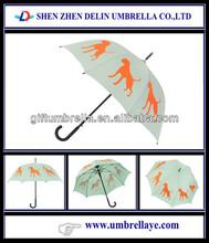 Boxer dog tom and jerry printing cartoon umbrella