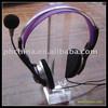TSD-A214 Factory custom acrylic headphone stand holder/plastic headset holder/acrylic earphone holder