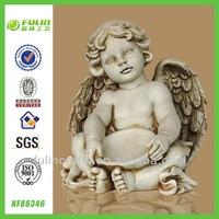 Hot Sale Handmade Crafts Cupid Resin Angel Figurines